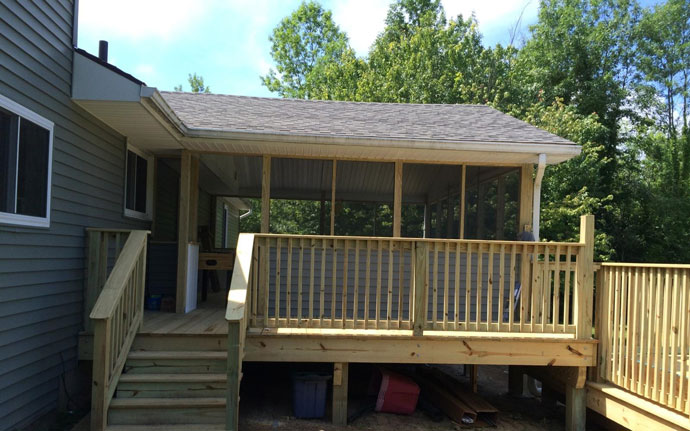 Addition & Deck – Clifton Park, NY
